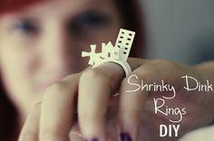 Shrinky-Dink Ring DIY