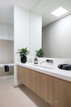 Modern bathroom vanity in Melbourne Cottage Bathroom Design Ideas, Bathroom Vanity Designs, Best Bathroom Vanities, Best Bathroom Designs, Modern Bathroom Design, Bathroom Interior Design, Bathroom Inspiration, Bathroom Storage, Bathroom Ideas
