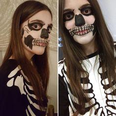 #halloweenparty #halloween2016 #sistercostume #makeupbysister #ahs #tatelangdon ☠️