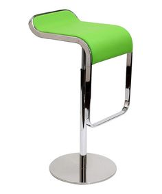 Take a look at this Green LEM Barstool by Modway on #zulily today!