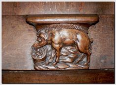 Miséricordes  Le cochon