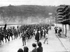 Spain - 1936-39. - GC - Anti-Red Troops in San Sebastian