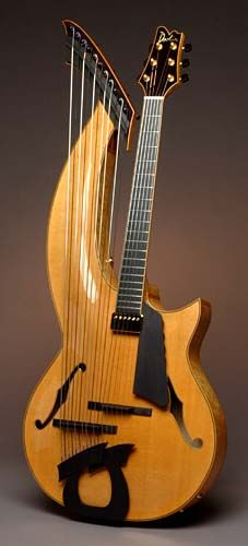 Doolin Guitars, 17-string Jazz Harp Guitar