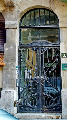 Bedő House - architect Emil Vidor, built in 1903. Today a museum and café: House of Hungarian Art Nouveau | JV