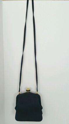 e52ca2fa6d8e Vintage Saks Fifth Avenue Little Black Shoulder Evening Handbag Purse   SaksFifthAvenue  EveningBag Saks Fifth
