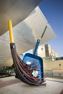 Denver Art Museum, Big Sweep (denver, co)**been there**    Always a fun place to visit!