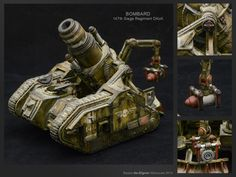 Bombard #40k #wh40k #warhammer40k #40000 #wh40000 #warhammer40000 #gw #gamesworkshop #wellofeternity #miniatures #wargaming #hobby