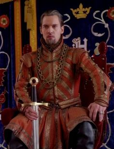 King Henry VIII long red doublet