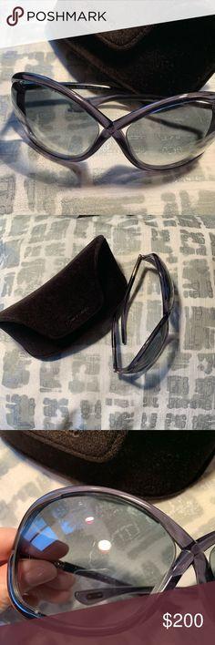 adb5d745b8 Tom Ford Whitney Oversized Soft Round Sunglasses Authentic Tom Ford Whitney  Oversized Soft Round Sunglasses