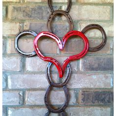 Horseshoe cross & heart