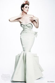 zac-posen-resort-2013-pale-mint-strapless-mermaid-gown.jpg (600×900)