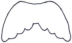 Angel Wing Pattern: Print Out This Angel Wing Template