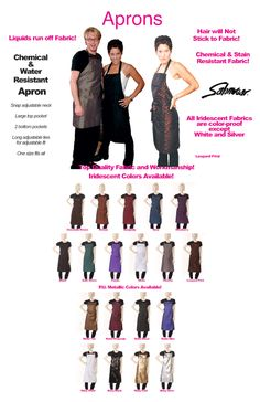 Salonwear - Salon Apparel, Salon Cape, Spa Uniforms, Cutting Capes, Salon Capes, and more! - We've got you covered!