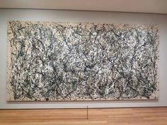 Jackson Polluck, Autumn Rhythm, 1950 saw this at the MOMA Sweet Charity, Beginner Art, Classic Paintings, Jackson Pollock, Artists Like, Moma, Painting Inspiration, Creative Art, Art History