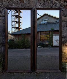 Купить Зеркало DALLAS. - коричневый, зеркало, Зеркало на заказ, зеркало в интерьере, зеркало в раме