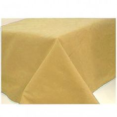 Gold Paper Tablecover -  50th Wedding Anniversary Decoration Ideas