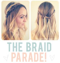 How to do a crown of braids