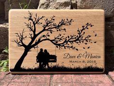 Personalized cutting board Custom Wedding gift for by ArtInspiro