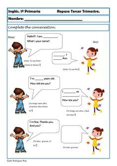 greetings in english English Worksheets For Kindergarten, English Activities, Kindergarten Reading, Worksheets For Kids, English Lessons For Kids, Kids English, English Verbs, English Vocabulary Words, Learn To English