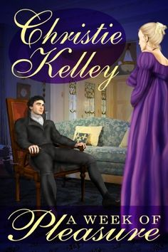 Mistaken identities, a desperate bargain, and a week of pleasure will keep you turning the pages as Christie Kelley takes you on a sensual romp through London society in Regency England.