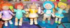 1984 OAA Cabbage Patch Kids PVC Figures by OwlCreations1 on Etsy, $14.98