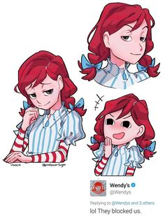 100% convinced that @Wendys is a smug anime girl by plasticiv