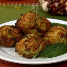 Spaghetti Squash Fritters. Can you say yummy?