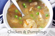 Chicken and dumplings, one of the easiest things to make with VitaClay! https://vitaclaychef.com/blogs/recipes/homemade-chicken-dumplings