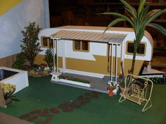 Travel Trailer dollhouse