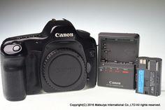 Canon EOS 5D 12.8 MP Digital Camera Body Excellent #Canon