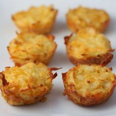 Breakfast Potato Bites #crockpotmoms #crockinmoms #breakfast  Recipe 1 package of pre shredded potatoes (I used simply potatoes found next to the eggs in the grocery store) 3 eggs beaten 1/2 cup shredded cheddar cheese 1/4 finely chopped onion (optional) 1/4 teaspoon garlic powder salt and pepper to taste  Preheat oven to 350 degrees and thoroughly grease a mini muffin pan cook for 20mins