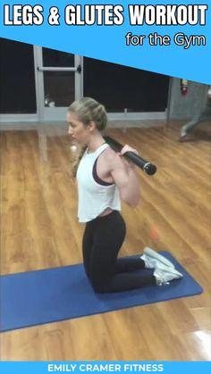 Intense Leg Workout, Leg And Glute Workout, Leg Workout At Home, Bar Workout, Gym Workout Videos, Kettlebell Workout Video, Step Workout, Full Body Workouts, Fun Workouts