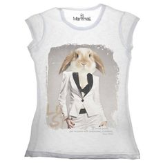 T-shirt coniglio Available on www.manymaltshirt...