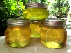 Jalapeno Mint Jelly- I just want to make Chartreuse jelly.