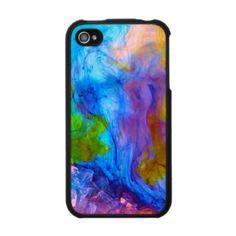 rainbow nuke iphone cover