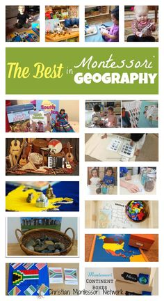 THE BEST in Montessori geography! Enough ideas to fill your whole school year with Montessori geography on ChristianMontessoriNetwork.com
