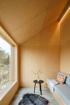 Gallery of Field House / Lookofsky Architecture - 24 Skylight Design, It Field, Swedish House, Design Fields, Forest House, Architecture Photo, House Architecture, Reading Room, Large Windows