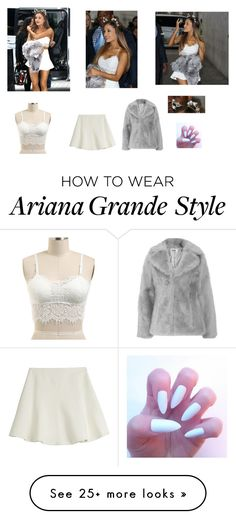"""""""ariana grande style"""" by sajazarma on Polyvore featuring Ralph Lauren Black Label and Jakke"""