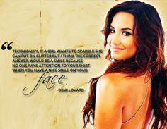 ~ Demi Lovato Quote