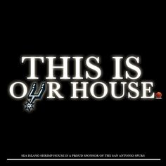 2014 NBA Finals, Game 1 in San Antonio! This is our house!! #gospursgo #spurs