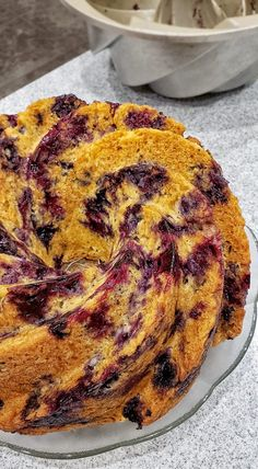 Roquefort mini cakes, smoked walnuts and bacon - Clean Eating Snacks Pear Recipes, Easy Cake Recipes, Dessert Recipes, Baking Recipes, Breakfast Recipes, Delicious Desserts, Yummy Food, Gluten Free Carrot Cake, Blueberry Cake