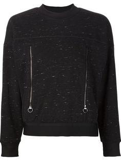 ADIDAS BY STELLA MCCARTNEY Zipped Pocket Sweatshirt. #adidasbystellamccartney #cloth #sweatshirt