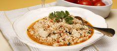 Receita de Arroz de peixe. Descubra como cozinhar Arroz de peixe de maneira prática e deliciosa com a Teleculinaria!