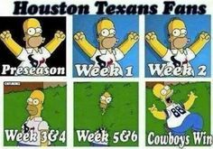 Texans memes vs. Cowboys memes