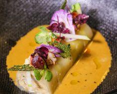 Recette bar unilateral et mousseline de carotte et - La table du square chaudefonds sur layon ...
