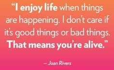 Joan Quotes #JoanRivers