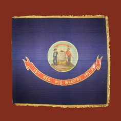 Wisconsin Infantry & Their Flag - Wisconsins Civil War Battle Flags Civil War Flags, Civil War Art, Military Art, Military History, American Civil War, American History, Union Flags, Civil War Photos, Civilization