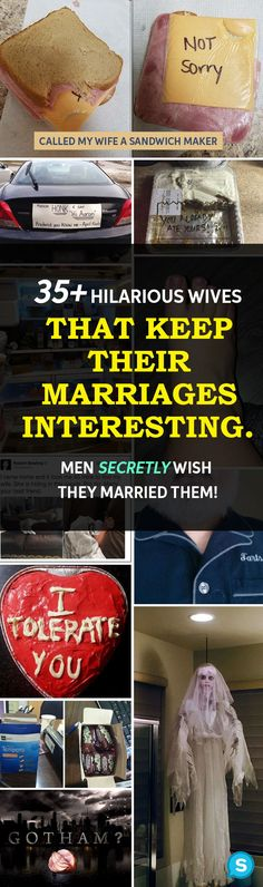 257d589d1adf82 35+ Hilarious Wives That Keep Their Marriages Interesting. Men Secretly  Wish They Married Them!