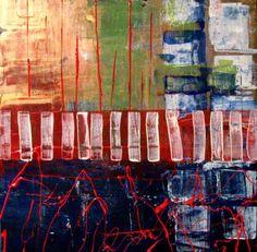Suzan Buckner - acrylic on wood