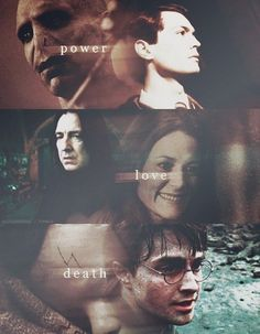 #HP Power Love and Death Riddle, Severeus, Harry